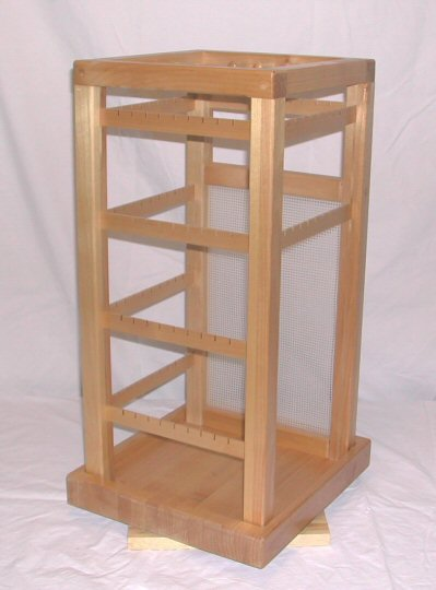 4 sided large jewelry stand