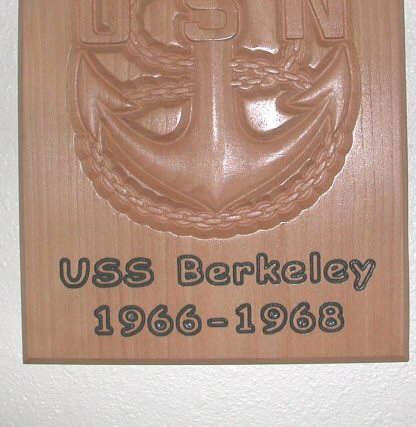 Navy Logo Plaque
